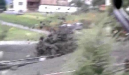 """Probably the best ever debris flow video, from Austria last week"" in 13 August 2012"