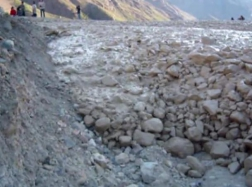 """Debris Flow Event in Chile"" in July 2006"